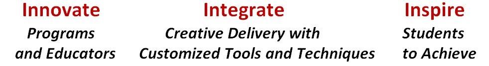 Innovate-Integrate-Inspire